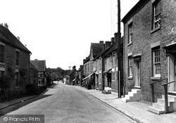 Abbots Bromley, The Village c.1955