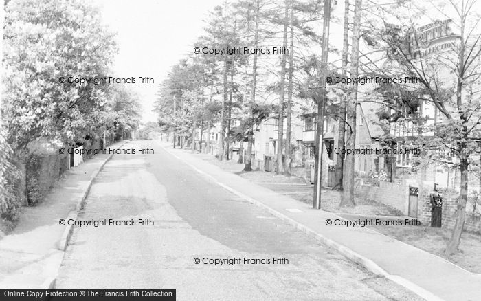 Photo of Abbots Langley, Abbots Road c.1955