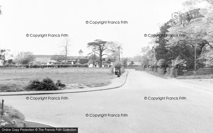 Photo of Abbots Langley, Bedmond Road c.1960