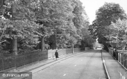 Abbots Langley, College Road c.1960