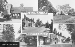 Abbots Langley, Composite c.1955