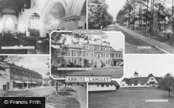 Abbots Langley, Composite c.1960