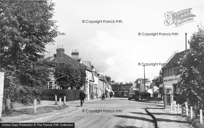 Photo of Abbots Langley, High Street c.1955