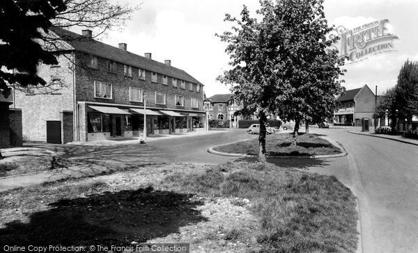 Abbots Langley, High Street c.1960