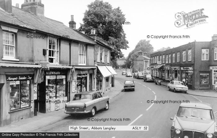 Photo of Abbots Langley, High Street c.1965