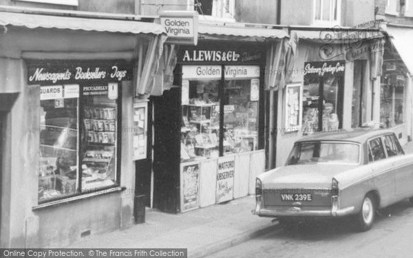 Photo of Abbots Langley, High Street Shops c.1965