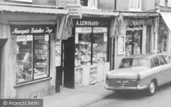 Abbots Langley, High Street Shops c.1965