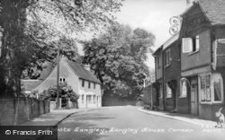 Langley House Corner c.1955, Abbots Langley