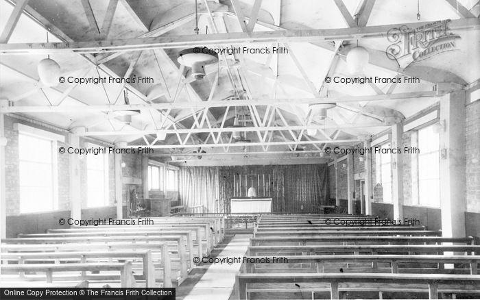 Photo of Abbots Langley, St Saviour's Rc Church, Interior c.1960