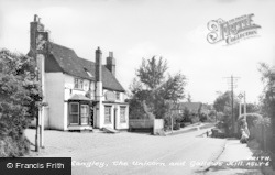 Abbots Langley, The Unicorn And Gallows Hill c.1955