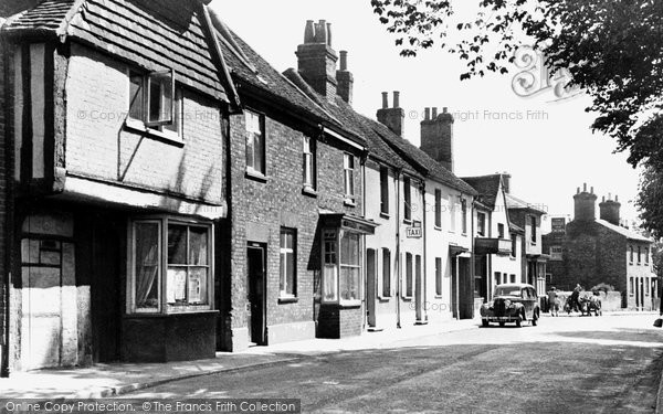 Photo of Abbots Langley, The Village c.1955