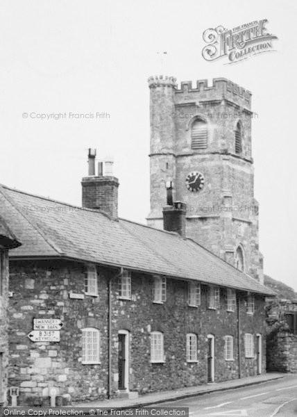 Photo of Abbotsbury, Church Street And St Nicholas' Church  c.1960