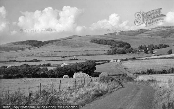 Photo of Abbotsbury, Dorset Landscape c.1960