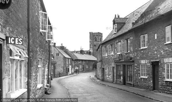 Photo of Abbotsbury, Market Street c.1955