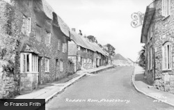 Abbotsbury, Rodden Row c.1955