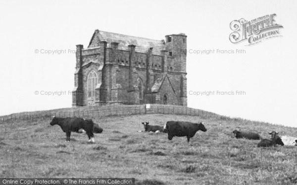 Photo of Abbotsbury, St Catherine's Chapel c.1955