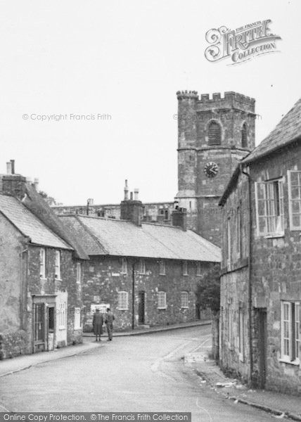 Photo of Abbotsbury, St Nicholas' Church c.1955