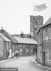 Abbotsbury, St Nicholas' Church c.1955