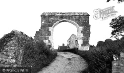 Abbotsbury, The Abbey Gateway c.1955