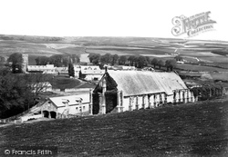 Abbotsbury, The Tithe Barn 1890