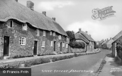 West Street c.1955, Abbotsbury