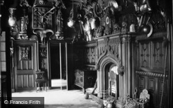 Abbotsford, Abbotsford House, Entrance Hall c.1890