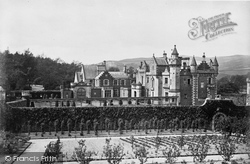 Abbotsford, From The Garden, Home Of Sir Walter Scott 1883