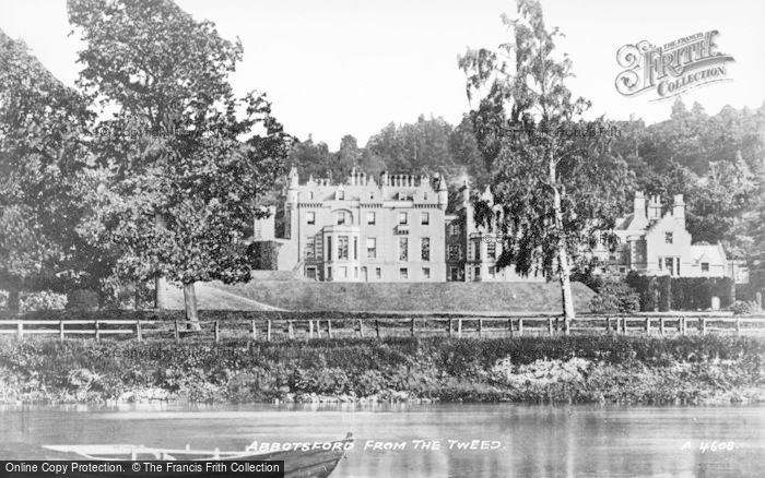 Photo of Abbotsford, From The Tweed c.1935