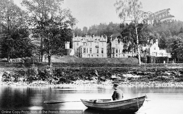 Photo of Abbotsford, From The Tweed, Home Of Sir Walter Scott 1890