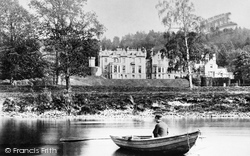 Abbotsford, From The Tweed, Home Of Sir Walter Scott 1890