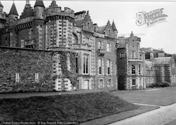 Photo of Abbotsford, House, Home Of Sir Walter Scott c.1950