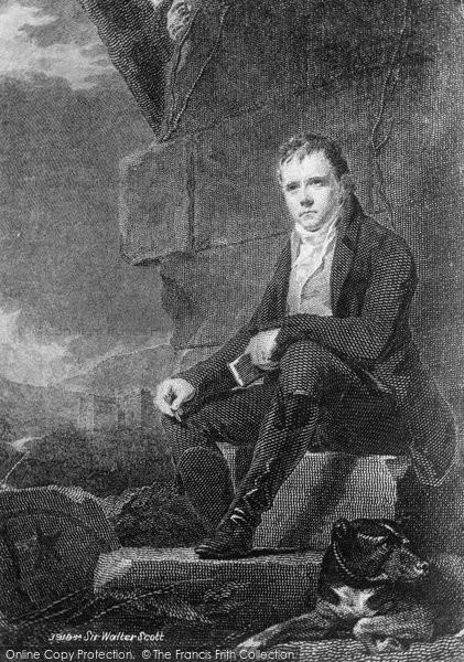 Photo of Abbotsford, Sir Walter Scott 1897, ref. 39198a