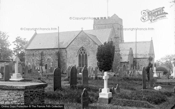 Photo of Abbotsham, Church From South c.1890