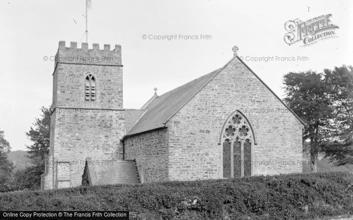 Photo of Abbotsham, Church From West c.1890