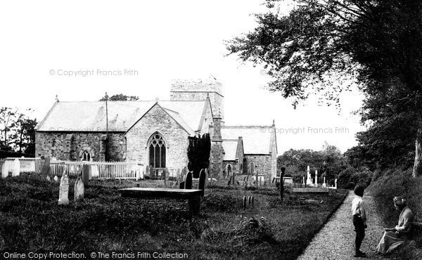 Photo of Abbotsham, St Helen's Church 1890
