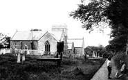 Abbotsham, Church of St Helen, south side 1890