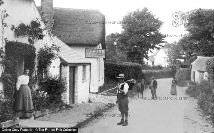 Photo of Abbotsham, The New Inn 1906