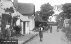 Abbotsham, The New Inn 1906
