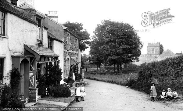 Photo of Abbotsham, Village 1906