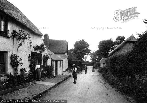 Photo of Abbotsham, Village 1906