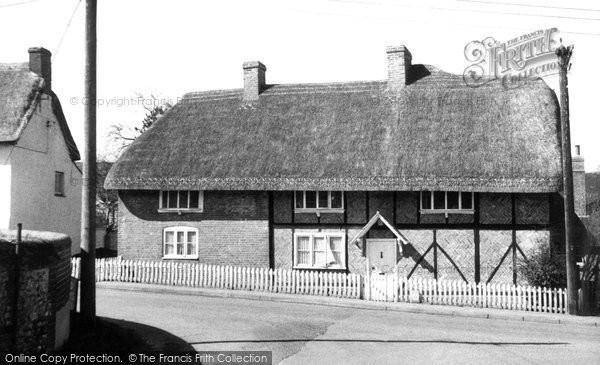 Photo of Abbotts Ann, School House c.1955