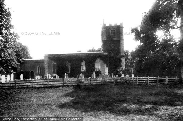 Photo of Abbotts Ann, St Mary's Church 1899