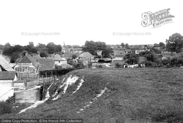 Photo of Abbotts Ann, The Village 1898