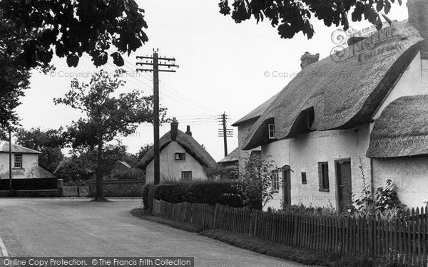 Photo of Abbotts Ann, The Village 1951
