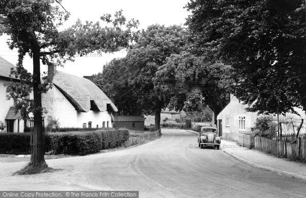 Photo of Abbotts Ann, The Village c.1955