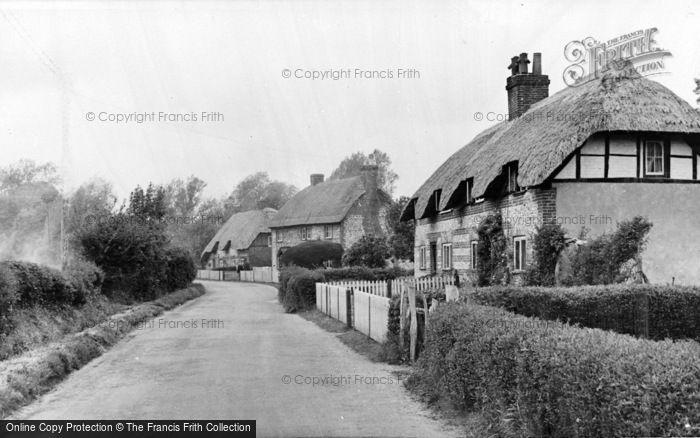 Photo of Abbotts Ann, The Village c.1955