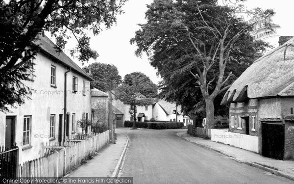 Photo of Abbotts Ann, The Village c.1960