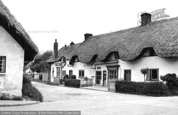 Photo of Abbotts Ann, The Village Shop c.1960
