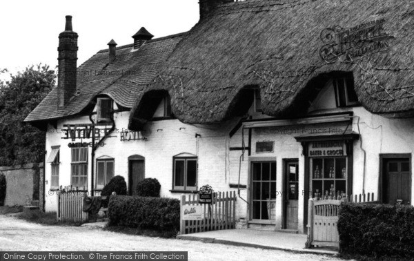 Photo of Abbotts Ann, The Village Shops c.1960