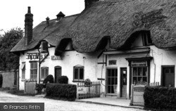 Abbotts Ann, The Village Shops c.1960